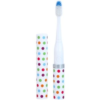 Violife Slim Sonic Confetti baterijska sonična zobna ščetka z nadomestno glavo