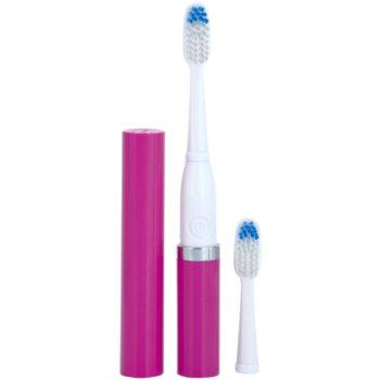 Violife Slim Sonic Purple електрична зубна щітка на батарейках із запасною головкою 1