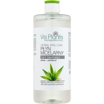 Vis Plantis Herbal Vital Care Aloe Juice & Panthenol apa cu particule micele 3 in 1