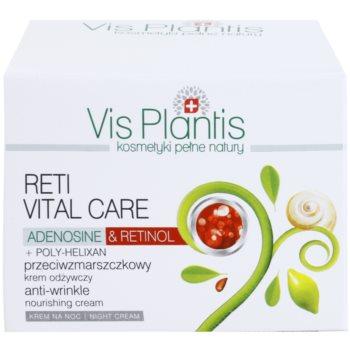 Vis Plantis Reti Vital Care nočna krema proti gubam z hranilnim učinkom 3