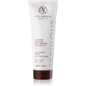 Vita Liberata Fabulous autobronzant wash off pentru corp  100 ml