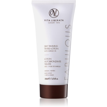Vita Liberata Fabulous crema auto-bronzanta big pack (Medium) 200 ml