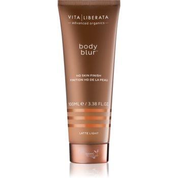 Vita Liberata Body Blur autobronzant corp si fata culoare Latte Light