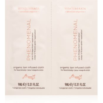 Vita Liberata Phenomenal Organic Tan Infused Cloths șervețel autobronzant