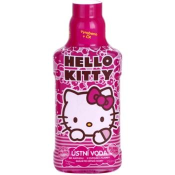 VitalCare Hello Kitty apa de gura pentru copii aroma Buble Gum  250 ml