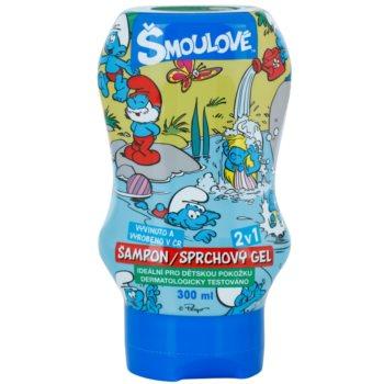 VitalCare The Smurfs Gel de dus si sampon pentru copii 2 in 1