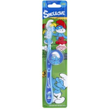 VitalCare The Smurfs дитяча зубна щітка з чохлом