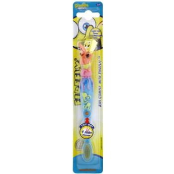 VitalCare SpongeBob periuta de dinti pentru copii cu cronometru fin
