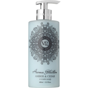 Vivian Gray Aroma Selection Amber & Cedar Sapun lichid  400 ml