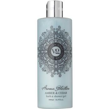 Vivian Gray Aroma Selection Amber & Cedar Гел за душ и вана