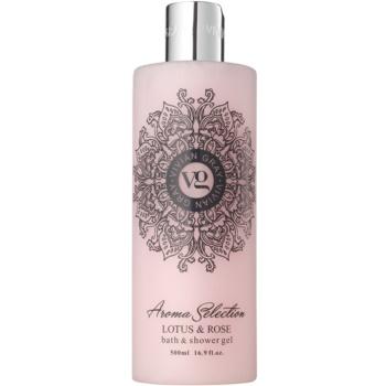 Vivian Gray Aroma Selection Lotus & Rose sprchový a koupelový gel