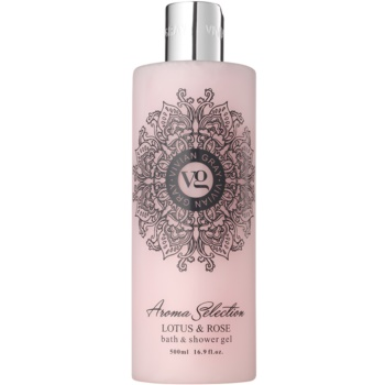 Vivian Gray Aroma Selection Lotus & Rose gel de dus si baie  500 ml