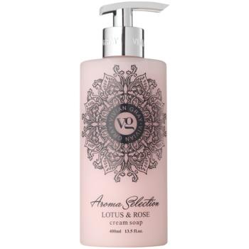 Vivian Gray Aroma Selection Lotus & Rose flüssige Cremeseife