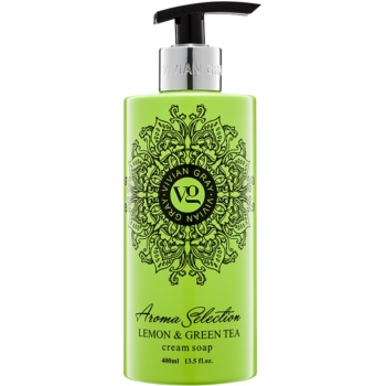 Vivian Gray Aroma Selection Lemon & Green Tea Sapun lichid  400 ml