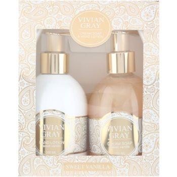 Vivian Gray Romance Sweet Vanilla kozmetični set I. 2