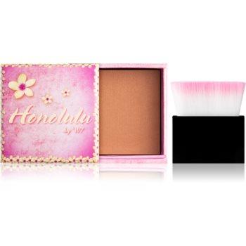 W7 Cosmetics Honolulu Bronzer mit Pinselchen 6 g