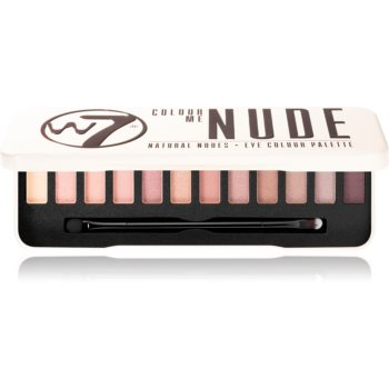 W7 Cosmetics Colour Me In The Nude paleta farduri de ochi
