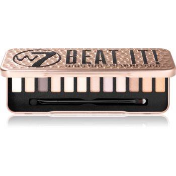 W7 Cosmetics Beat It paletă cu farduri de ochi
