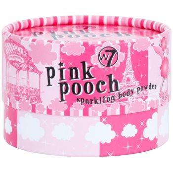W7 Cosmetics Pink Pooch puf pentru pudra 3