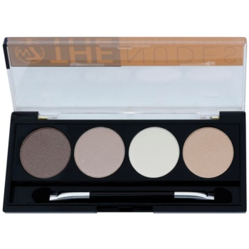 W7 Cosmetics The Nudes paleta farduri de ochi cu aplicator