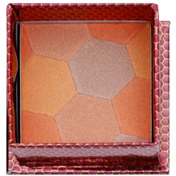 W7 Cosmetics The Honey Queen Puder-Rouge mit Pinselchen 1
