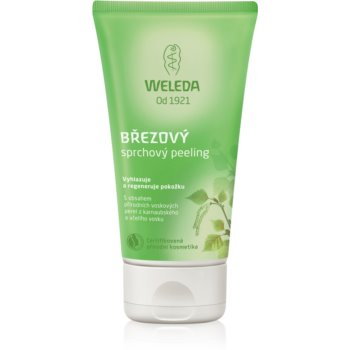 Weleda Birch gel de dus exfoliant poza