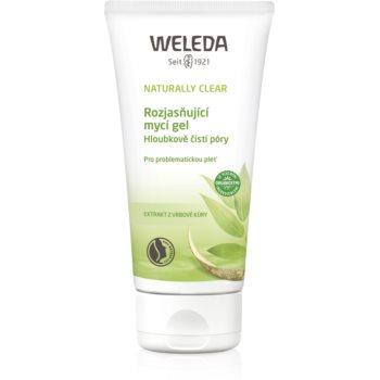 Weleda Naturally Clear gel de spălare, cu efect de iluminare pentru pielea problematica poza noua