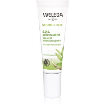 Weleda Naturally Clear tratament topic pentru acnee pentru pielea problematica