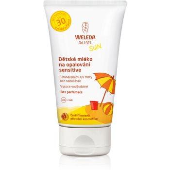 Weleda Sun lapte de soare pentru copii SPF 30  150 ml
