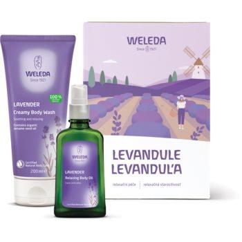 Weleda Lavender set cadou V. (cu lavanda) pentru femei