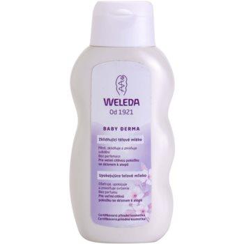 Weleda Baby Derma lapte de corp calmant pentru copii  200 ml