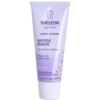 Weleda Baby Derma beruhigende Gesichtscreme für Kinder 50 ml