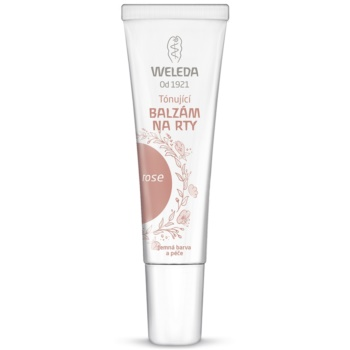 Weleda Lip Care balsam de buze tonifiant culoare Rose 10 ml