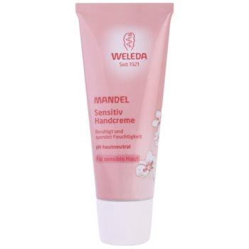 Weleda Almond cremă de mâini pentru piele sensibilă  50 ml