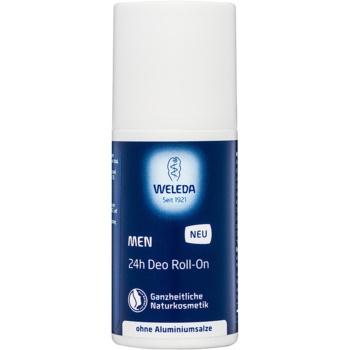 Weleda Men deodorant roll-on fără săruri de aluminiu 24 de ore citrice  50 ml