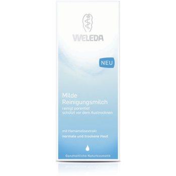 Weleda Cleaning Care почистващо мляко за нормална към суха кожа 2