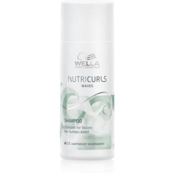 Wella Professionals Nutricurls Waves sampon hidratant pentru parul cret poza
