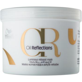 Fotografie Wella Professional Vyživující maska pro všechny typy vlasů Oil Reflection (Luminous Reboost Mask) 50