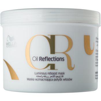 Wella Professionals Oil Reflections Mască nutritivă pentru păr neted și lucios  500 ml