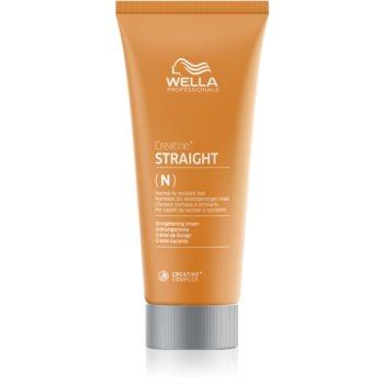 Wella Professionals Creatine+ Straight crema pentru par cu efect de netezire