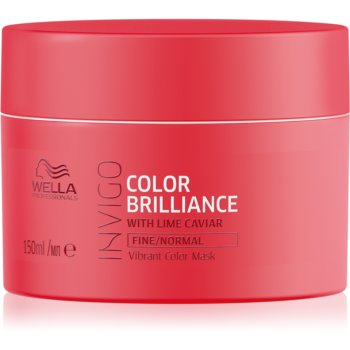 Wella Professionals Invigo Color Brilliance masca hidratanta pentru par fin si normal poza