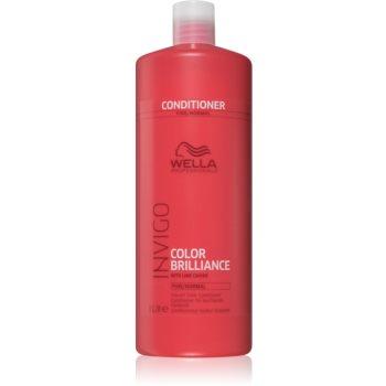 Wella Professionals Invigo Color Brilliance balsam pentru păr normal și fin vopsit