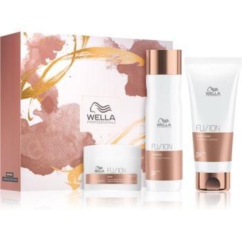 Wella Professionals Fusion set cadou (pentru par deteriorat) imagine