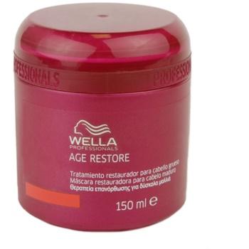 Fotografie Wella Professionals Age Restore maska pro silné, hrubé a suché vlasy 150 ml