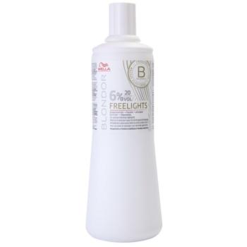 Fotografie Wella Professionals Blondor aktivační emulze (6% 20 Vol) 1000 ml