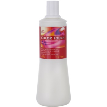 Fotografie Wella Professionals Color Touch aktivační emulze 4 % 13 Vol. 1000 ml