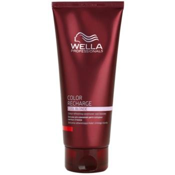 Wella Professionals Color Recharge balsam cu efect de intensificare a culorii culoare Cool Blonde 200 ml