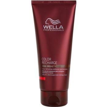 Wella Professionals Color Recharge balsam cu efect de intensificare a culorii culoare Cool Brunette 200 ml