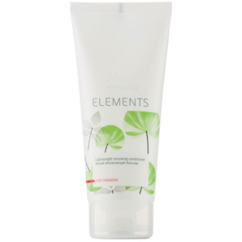 Wella Professionals Elements balsam pentru regenerare  200 ml