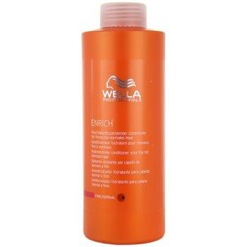 Fotografie Wella Professionals Enrich kondicionér pro normální vlasy 1000 ml